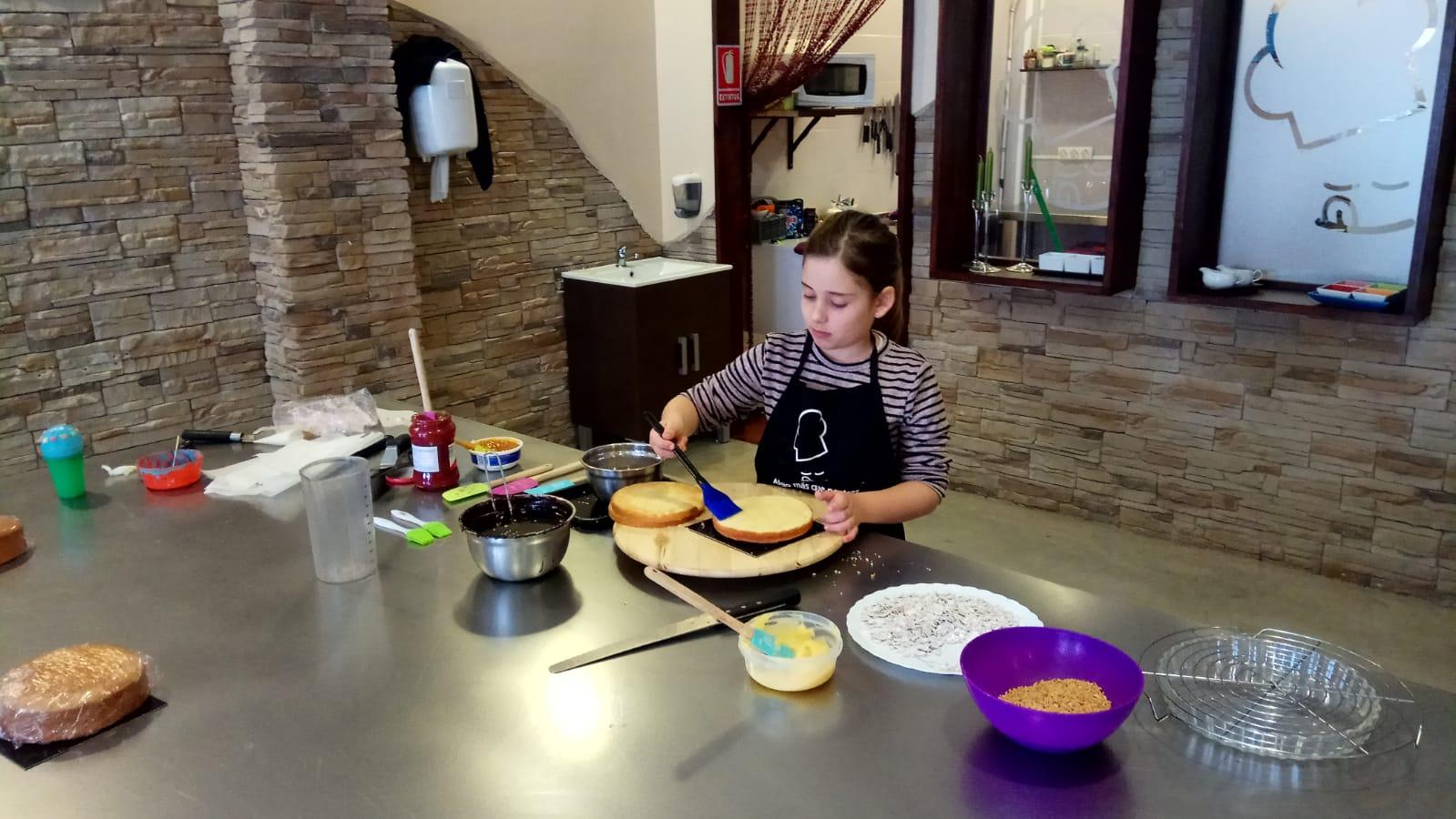 Taller de monas. Curso de pastelería en Sant Feliu de LLobregat