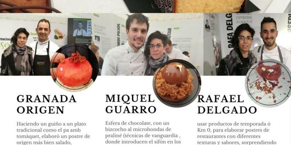 Feria Internacional de pastelería en Sant Vicenç dels Horts Enero 2018