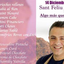 Curso presencial de pastelería con Ettore Cioccia