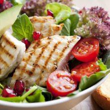 Ensaladas tibias y ensaladas gourmet