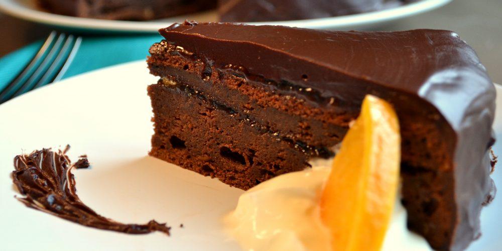 Curso de pastelería Tarta Sacher